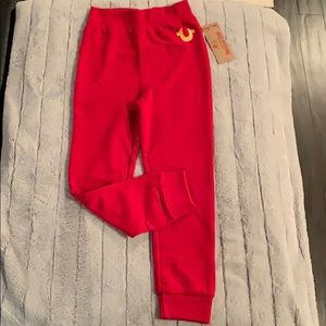 NWT- True Religion joggers - for kids!